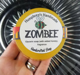 ZOMBEE Honey Soap | Shave Soap | Body Bar | Honeycomb Scent - Humphrey's Handmade