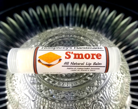S'MORE Lip Balm | Chocolate Marshmallow Flavor - Humphrey's Handmade