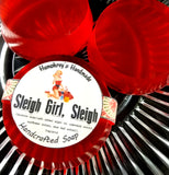 SLEIGH GIRL SLEIGH Glycerin Soap | Spicy Cinnamon & Coconut | Christmas Soap - Humphrey's Handmade
