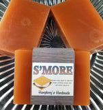 S'MORE Soap Bar | S'more Scent | Unisex | Exfoliating | Layered Bar