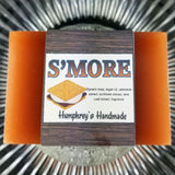 S'MORE Soap Bar | S'more Scent | Unisex | Exfoliating | Layered Bar - Humphrey's Handmade