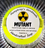 MUTANT Shave & Shampoo Soap | Unisex | Beard Wash | Lemon Lime| Essential Oil - Humphrey's Handmade