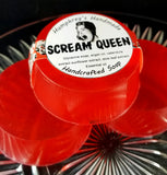 SCREAM QUEEN Soap | Red Women's Rose Soap Bar - Humphrey's Handmade