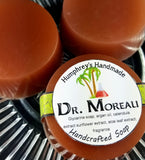 DR MOREAU Soap |  Coconut Lime Scent | Unisex Shave Soap | Body Bar | Shampoo Puck - Humphrey's Handmade