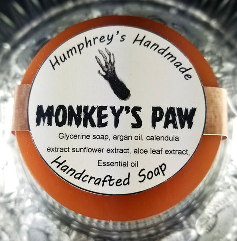 MONKEY'S PAW Soap | Banana Coconut Scent | Shave Soap | Body Bar | Shampoo Puck - Humphrey's Handmade