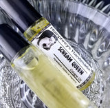 SCREAM QUEEN Cologne | Roll On Jojoba Oil | Fresh Rose Perfume - Humphrey's Handmade