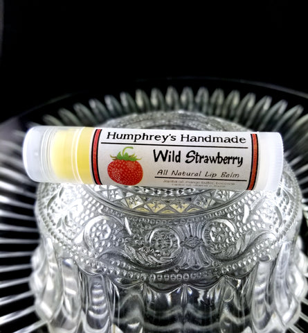 WILD STRAWBERRY Lip Balm | Strawberries Flavor - Humphrey's Handmade