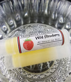 WILD STRAWBERRY Lip Balm | Strawberries Flavor