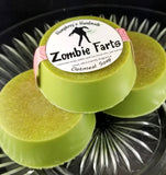 ZOMBIE FARTS Oatmeal Soap | Vanilla Scented Horror Soap