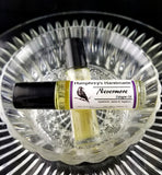NEVERMORE Cologne Oil | Unisex | Oud & Pumpkin | Roll On - Humphrey's Handmade