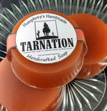 TARNATION Men's Glycerin Soap | Shave Soap | Tobacco Leather Scent - Humphrey's Handmade