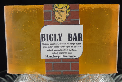 BIGLY BAR Trump Soap | Limited Edition | Big Soap - Humphrey's Handmade