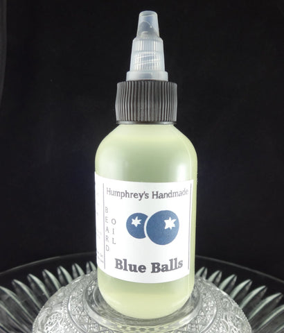 BLUE BALLS Beard Oil | Blueberry Scent | 2 oz - Humphrey's Handmade