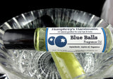 BLUE BALLS Cologne Oil | Blueberry Scent | Jojoba Cologne Oil - Humphrey's Handmade