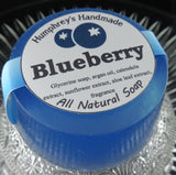 BLUEBERRY Soap | Women's Shave Soap | Body Bar | Argan Oil - Humphrey's Handmade