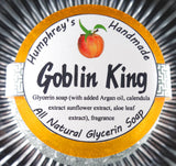 GOBLIN KING Soap | Peach Scent | Fresh Georgia Peaches - Humphrey's Handmade