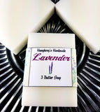 LAVENDER Three Butter Soap | Essential Oil | Colorant and Fragrance Free