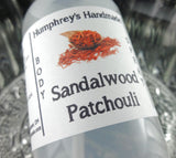 SANDALWOOD PATCHOULI Body Spray | 2 oz | Linen Spray | Room Spray - Humphrey's Handmade