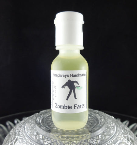 ZOMBIE FARTS Beard Oil | Sample .5 oz | Warm Vanilla - Humphrey's Handmade