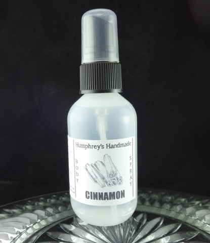 CINNAMON Body Spray | 2 oz | Unisex | Spicy | Room Spay - Humphrey's Handmade