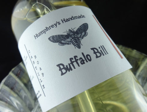 BUFFALO BILL Castile Soap | Leather Scent | Beard Wash | Body Wash | 8 oz - Humphrey's Handmade