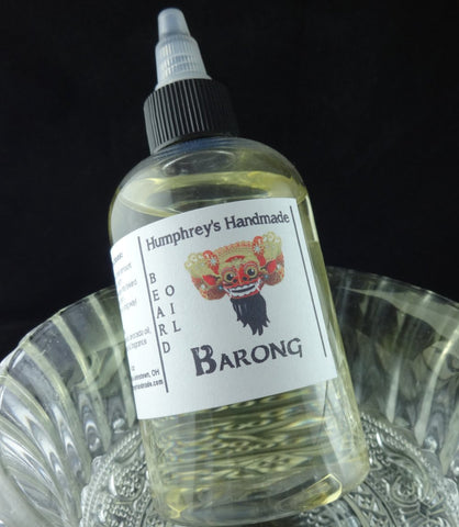 BARONG Beard Oil | Indonesian Teakwood | 4 oz - Humphrey's Handmade