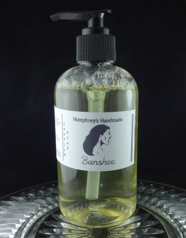 BANSHEE Women's Body Wash | 8 oz | Redwood Saffron Scent - Humphrey's Handmade
