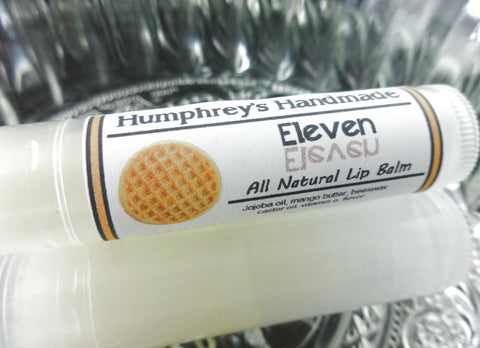 ELEVEN Lip Balm | Maple Syrup Waffle Flavor - Humphrey's Handmade