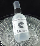 DRAGON Body Spray | Smoke Bonfire Scent | 2 oz - Humphrey's Handmade