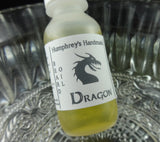DRAGON Beard Oil | Smokey Bonfire | Small .5 oz Conditioner - Humphrey's Handmade