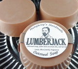 LUMBERJACK Men's Soap | Mechanics Oatmeal Soap | Exfoliating - Humphrey's Handmade