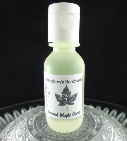VERMONT MAPLE SYRUP Beard Oil | Small .5 oz | Fresh Maple Scent - Humphrey's Handmade