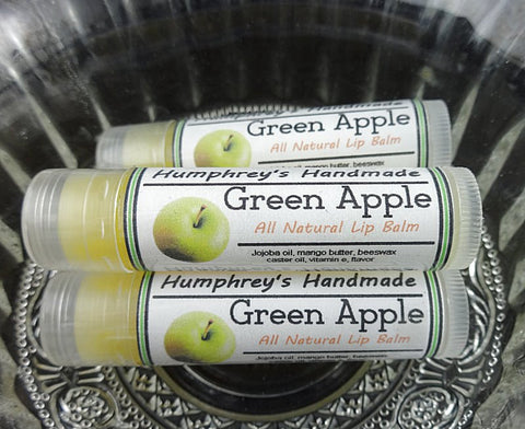 GREEN APPLE Lip Balm | Green Apple Flavor - Humphrey's Handmade