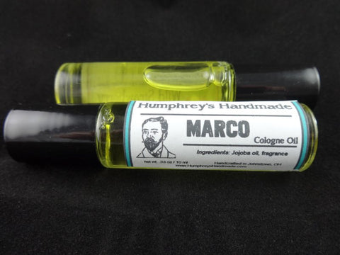 MARCO Men's Cologne Oil | Polo Sport Type | Jojoba Oil - Humphrey's Handmade