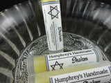 SHALOM Lip Balm | Apple and Tupelo Honey Flavor | Jewish Lip Balm - Humphrey's Handmade