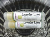 LAVENDER LIME Lip Balm | Lavender and Lime Flavor | Essential Oil - Humphrey's Handmade