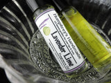 LAVENDER LIME Perfume | Roll-On Fragrance | Essential Oil | Golden Jojoba Oil - Humphrey's Handmade
