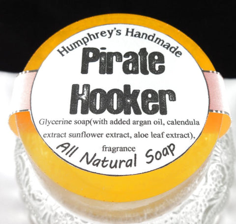 PIRATE HOOKER Soap | Tropical Shave & Shampoo Soap | Argan Oil - Humphrey's Handmade
