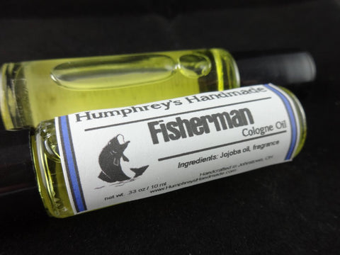 FISHERMAN Cologne Oil | Unisex | Anise | Black Licorice | Jojoba - Humphrey's Handmade