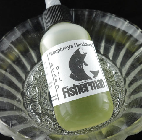 FISHERMAN Beard Oil | Anise | Black Licorice | 2 oz - Humphrey's Handmade
