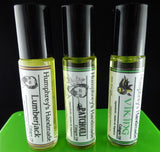 PICK ANY THREE Men's Cologne Oils | Cologne Oil Sampler | Golden Jojoba Oil - Humphrey's Handmade