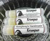 KRAMPUS Lip Balm | Christmas Peppermint Flavor | Essential Oil - Humphrey's Handmade