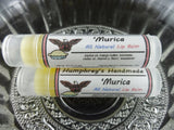 MURICA Lip Balm | Apple Pie Flavor | All American Lip Balm - Humphrey's Handmade