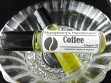 COFFEE Cologne Oil | Unisex Roll On | Coffee Bean Scent | Golden Jojoba Oil - Humphrey's Handmade