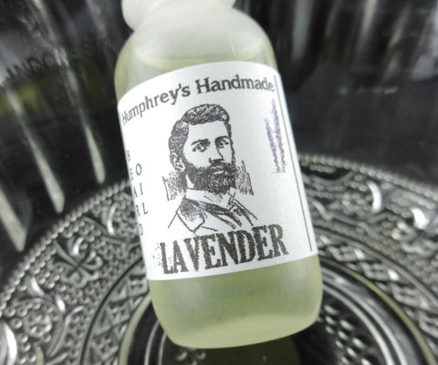 LAVENDER Beard Oil | All Natural .5 oz Mini | Essential Oil - Humphrey's Handmade