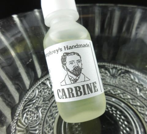 CARBINE Beard Oil | Gun Oil Scent | Small .5 oz - Humphrey's Handmade