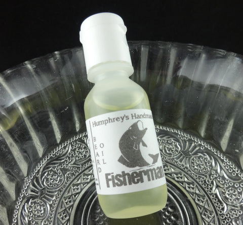 FISHERMAN Beard Oil | Anise | .5 oz | Black Licorice - Humphrey's Handmade