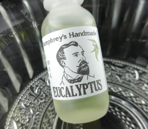 EUCALYPTUS Beard Oil | .5 oz Sample Size | Essential Oil - Humphrey's Handmade