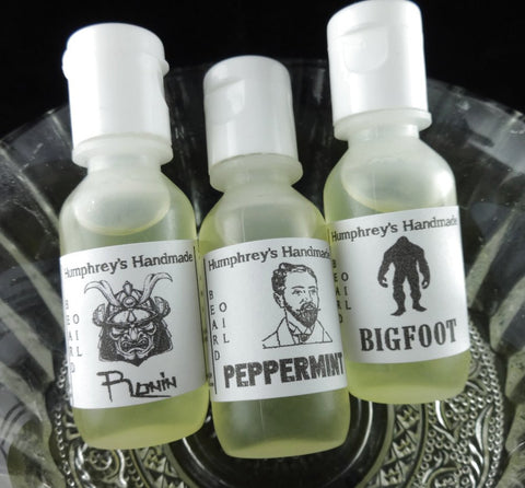 PICK ANY 3 Men's Beard Oils | Beard Oil Sampler | .5 oz Bottles - Humphrey's Handmade
