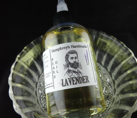 LAVENDER Beard Oil | 4 oz | Essential Oil - Humphrey's Handmade